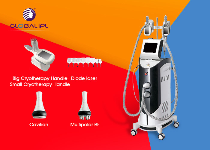 Freeze Cryolipolysis RF Cavitation Machine For Slimming And Skin Rejuvenation