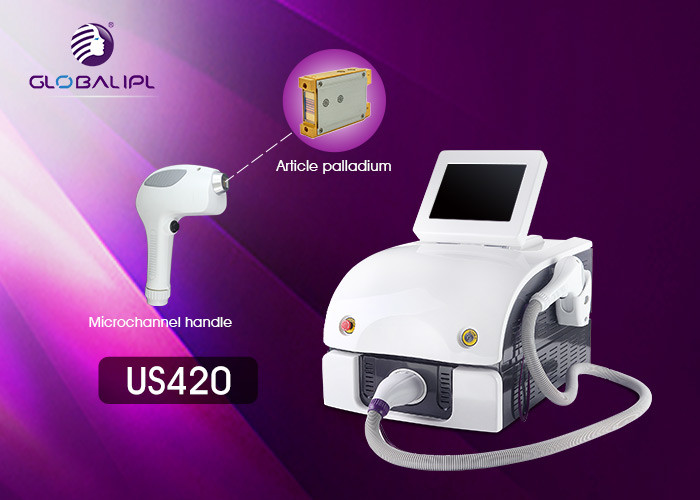 Lady 808 Laser Hair Removal Device 0.5-10HZ Frequency Sliding Treatment Way