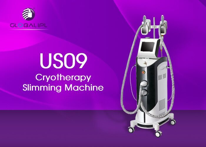 Medical Cryo RF Ultrasound Cavitation Slimming Machine With 8.4 Inch Color Touch Screen