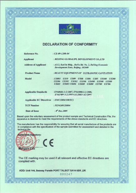 الصين Beijing Globalipl Development Co., Ltd. الشهادات